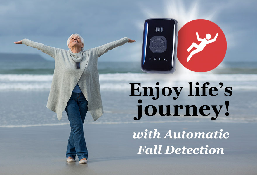 Mobile GPS for Seniors with Fall Detect