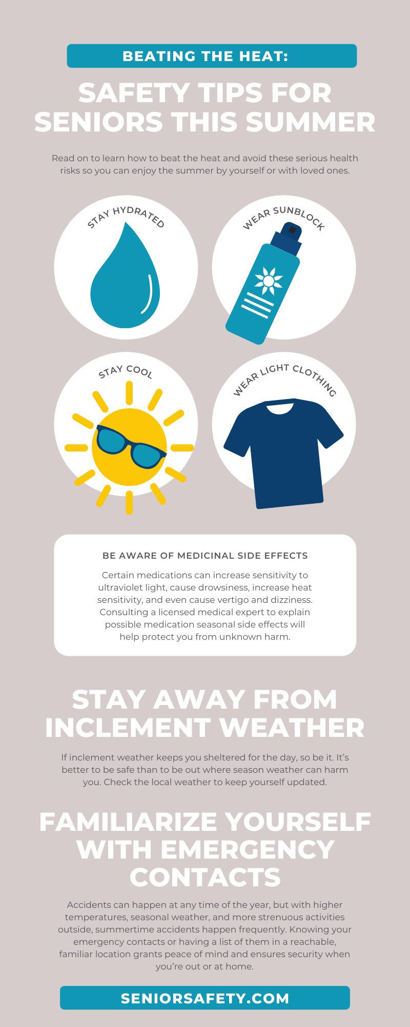 Beating the Heat: Safety Tips for Seniors This Summer